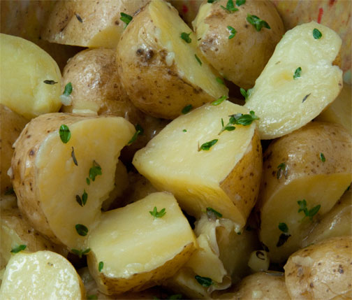 Holiday Catering by BBQ Stews - Side of Potatoes